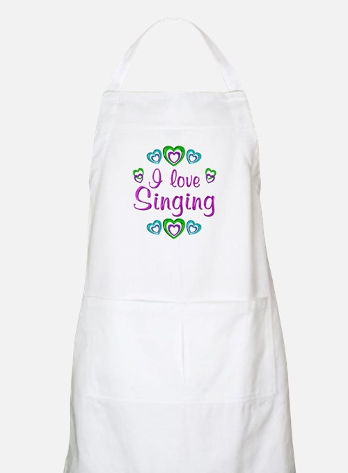 I Love Singing Apron