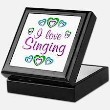 I Love Singing Keepsake Box