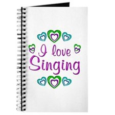 I Love Singing Journal