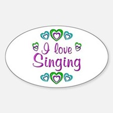 I Love Singing Decal