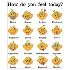 How do you feel today? I Poster