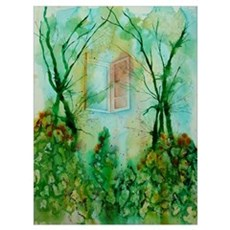 - Original Watercolor Print Poster