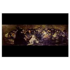 Goya - Witches Sabbath 17x11 Print Poster