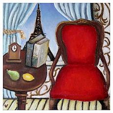 Paris Parlor Poster