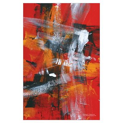 "Painting 57 ""Shaken Up"" Poster"