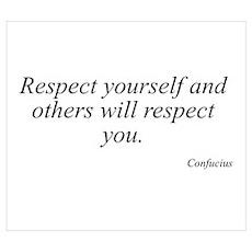 Confucius quote 10 Poster