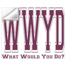 WWYD Wall Decal