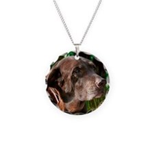 Chocolate Sweet Lab Necklace