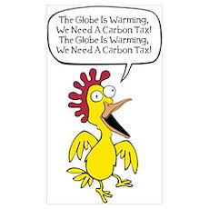 Liberal Chicken Littles Poster