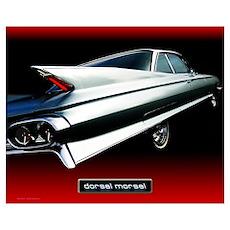 '61 Cadillac: Dorsal Morsel' Poster