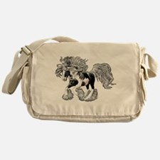 Gypsy Vanner Messenger Bag
