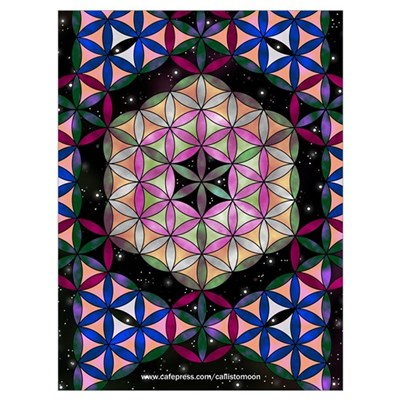 Metatron S Cube Poster