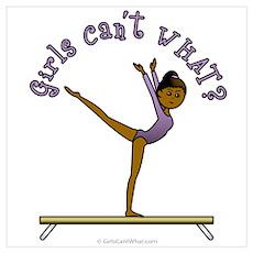 Dark Gymnastics Poster