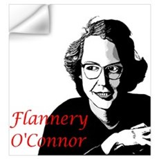 Flannery O'Connor Wall Decal