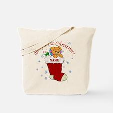 Babys 1st Christmas Tote Bag