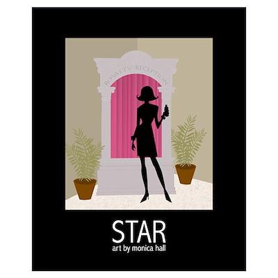 16x20 Seminar Star Print Poster