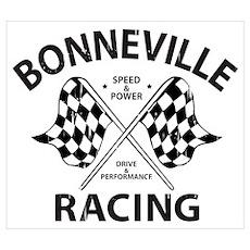 Bonneville Racing Poster