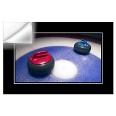 Curling Stones Wall Decal