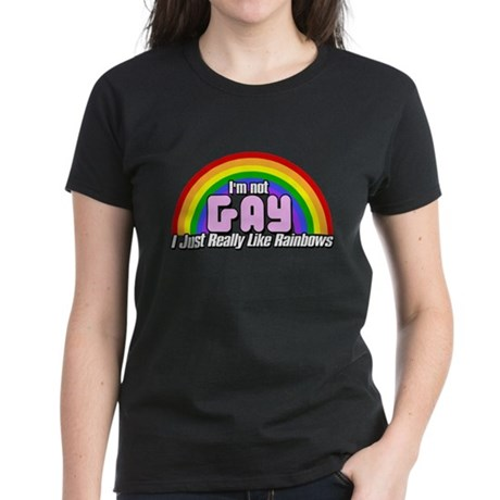 I Like Rainbows Women's Dark T-Shirt
