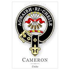 Clan Cameron Poster