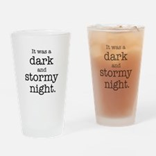 Dark and Stormy Night Drinking Glass