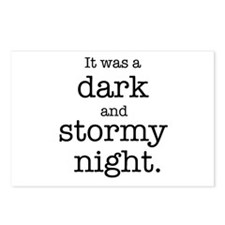 Dark and Stormy Night Postcards (Package of 8)
