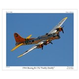 B 17 flying fortress Wrapped Canvas Art
