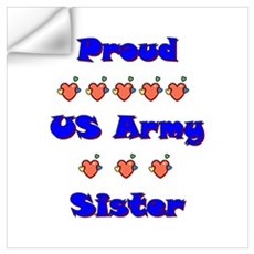 US Army Sister Wall Decal