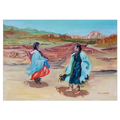 Native Dance Poster