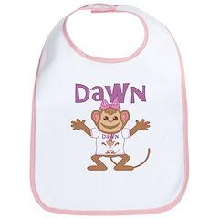 Little Monkey Dawn Bib