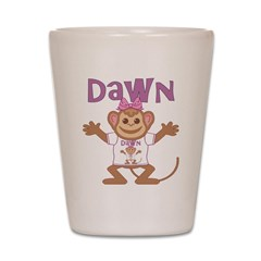 Little Monkey Dawn Shot Glass