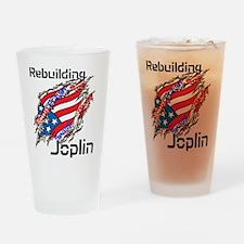 Rebuilding Joplin Drinking Glass