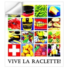 Vive la Raclette! Wall Decal