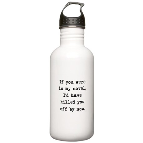 Killed You Off Stainless Water Bottle 1.0L