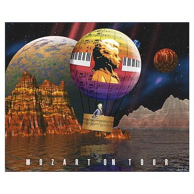 MOZART ON TOUR Poster
