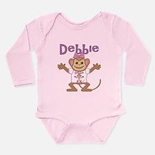 Little Monkey Debbie Long Sleeve Infant Bodysuit