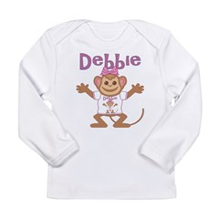 Little Monkey Debbie Long Sleeve Infant T-Shirt
