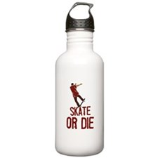 Skate Or Die Water Bottle