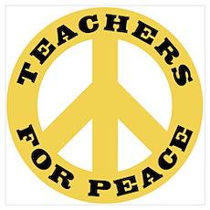 Teachers For Peace Poster