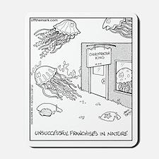 Jellyfish Chiropractors Mousepad