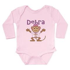 Little Monkey Debra Long Sleeve Infant Bodysuit