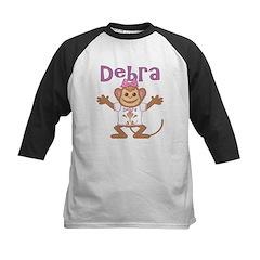 Little Monkey Debra Kids Baseball Jersey