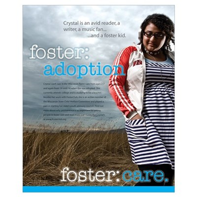 foster:care. Crystal Poster