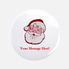"""Add Your Own Message To Santa 3.5"""" Button (100 pac"""