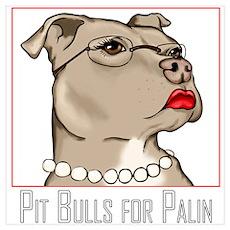 Pit Bulls 4 Palin II Poster