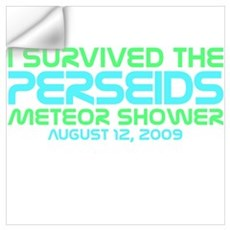 Perseids Meteor Shower Wall Decal
