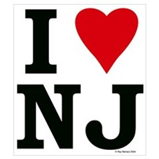 I LOVE NJ Poster