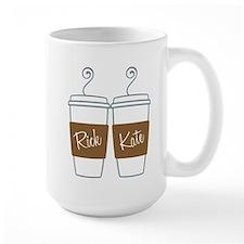 Castle Morning Coffee Large Mug