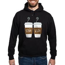 Castle Morning Coffee Hoodie (dark)