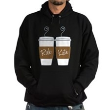 Castle Morning Coffee Hoodie